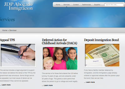 JDP Abogado Inmigracion (Dual Language)