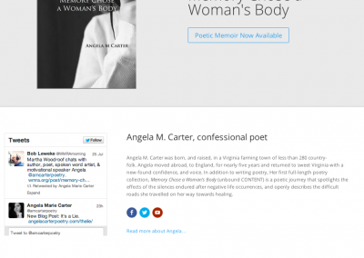 Angela M. Carter Poetry