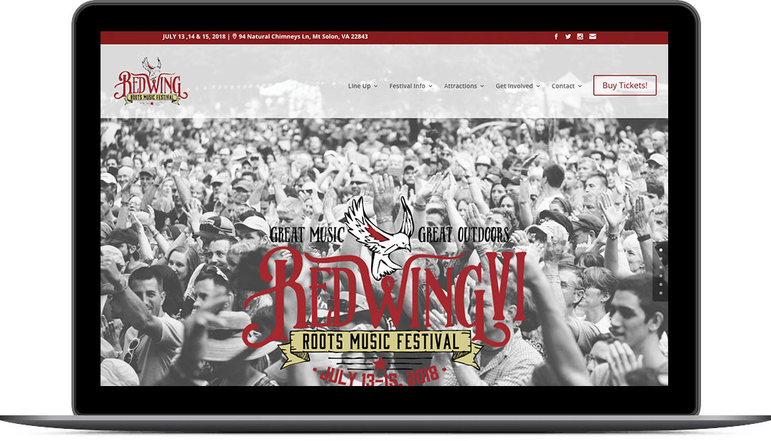 Redwing roots festival website