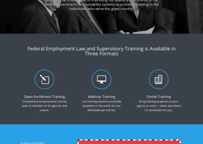 Federal Employment Law Training Group